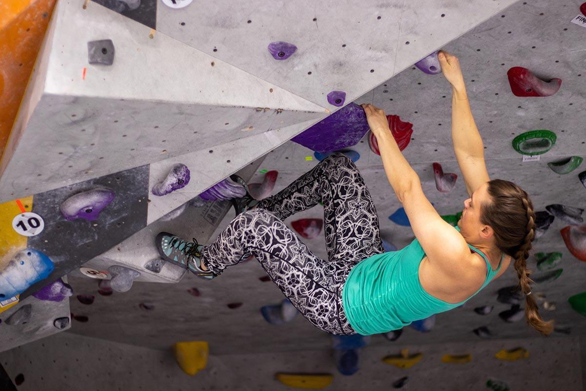 rock climbiing
